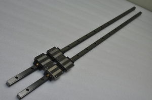 THK Linear Bearing LM GUIDE HSR15A 899mm 2Rails 4Blocks NSK IKO CNC Router