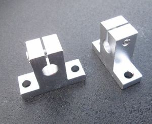 SK8 8mm Bearing CNC Aluminum Linear Rail Shaft Guide Support