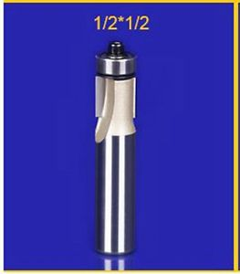 1piece trimming slot bearing wood working tools CNC router bits 1/2*1/2