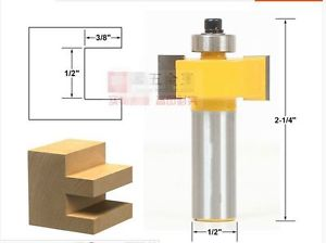 1piece T type with bearing CNC wood working tools router bits 1/2*1/2
