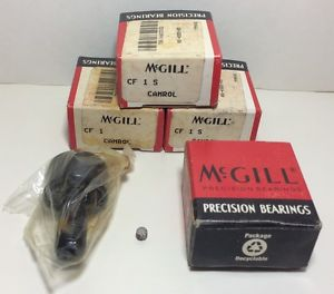 McGill Precision Bearings CamRol CF1S Cam Follower NIB Set Of 4