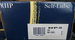 "NEW RHP SELF-LUBE PILLOW BLOCK BEARING NP2 2"" AR3P5 ………. WQ-01"