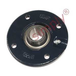 RHP FC30A-RHP 4 Bolt Round Cast Iron Flanged Bearing Unit & 30mm Insert