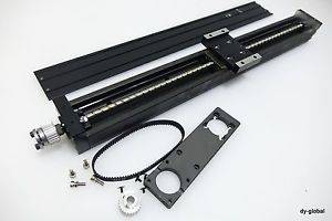 THK Linear actuator KR3310A-500L with 100W AC Servo Bracket pulley 25T ACT-I-26