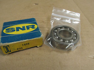 NIB SNR 1203 SELF ALIGNING BEARING 1203 17x40x12 mm