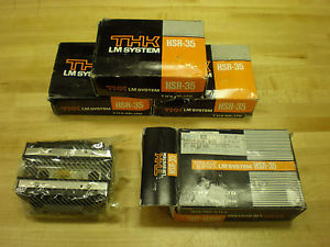 THK LINEAR BEARING CARTRIDGES HSR-35 ~NEW~SURPLUS~