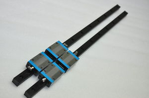 IKO Linear Bearing LM GUIDE MES20 639mm 2Rails 4Blocks NSK THK CNC Router