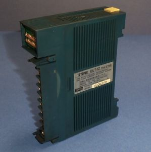 TOYODA TOYOPUC OUT-12 OUTPUT MODULE THK-2752 *MISSING DOOR & FACE PLATE*