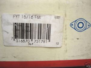 SKF FYT 15/16 FM Wall Mount Bearing Block NIB