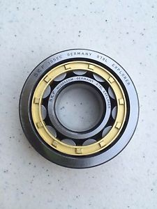 NEW SKF NU305 Cylindrical Roller Bearing w/ Bronze Cage Made in Germany