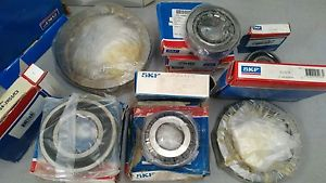 Lot of (9) SKF Bearings NEW OLD STOCK