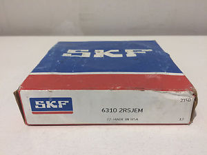 NIB SKF 6310 2RSJEM Single Row Sealed Ball Bearing 50mm Bore 6310-2RS1/C3 310PP
