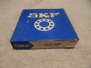 SKF 7213 BEP Angular Contact Bearing, 65mm Bore ID x 120mm OD x 23mm Wide NIB