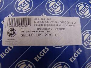 ELGIS GE140-UK-2RS PLAIN SPHERICAL BEARING BRAND NEW #3 SKF