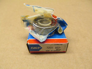 1 NIB SKF 7201 BEP 7201BEP ANGULAR CONTACT BEARING 12MM BORE 32MM OD 10MM WIDTH