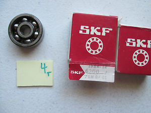 LOT OF 2 NEW IN BOX SKF DEEP GROOVE BALL BEARING 6300 J 6300J 6300-J (140-2)