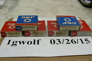 SKF 6305-2RSJEM SINGLE ROW DEEP GROOVE BALL BEARING