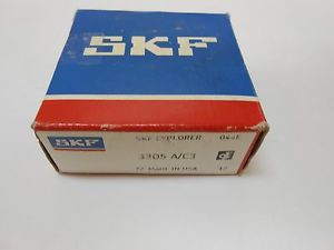 NEW SKF 3305 A/C3 DOUBLE ROW BALL BEARING