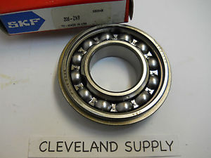 SKF 206-ZNR SHIELDED ONE SIDE BALL BEARING 30 X 60 X 16MM NEW CONDITION IN BOX