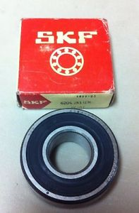 SKF 6204-2RS1/C3 Roller Bearing, lot of 2(RB27)