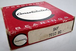 NEW 7210 BG SKF Angular Contact Ball Bearing ***