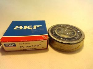 NEW IN BOX SKF NU-206-ECP/C3 CYLINDRICAL ROLLER BEARING