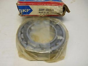 SKF 22209 CCK/W33 SPHERICAL ROLLER BEARING 45X85X23MM NEW CONDITION IN BOX
