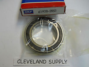 SKF 61908-2RS1 PRECISION BALL BEARING SEALED BOTH SIDES NEW CONDITION IN BOX