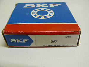 NEW SKF 207 BEARING 35mm X 72mm X 17mm