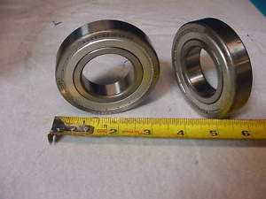 2 Pieces New SKF 6208 2Z/C4GLP Shelded Ball Bearing