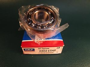 SKF 2202 ETN9 Double Row Self-Aligning Bearing (=2 MRC, FAG, SNR)