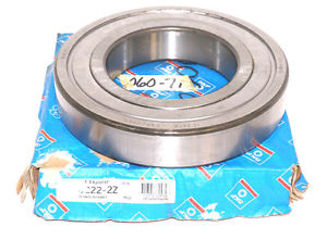 NIB SKF 6222-2Z SINGLE ROW BALL BRGS 62222Z