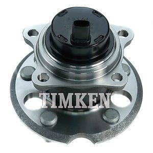 Wheel Bearing and Hub Assembly Rear TIMKEN 512280 fits 04-10 Toyota Sienna