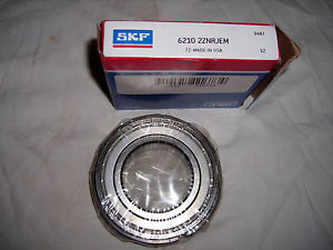 SKF 6210 2ZNRJEM Deep Groove Snap Ring Bearing * NEW IN BOX