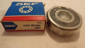 NEW IN BOX SKF 6303 2RSJEM BALL BEARING