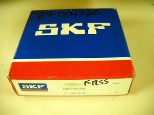 SKF Bearing 6309 NRJEM 45mm 100mm 25mm New