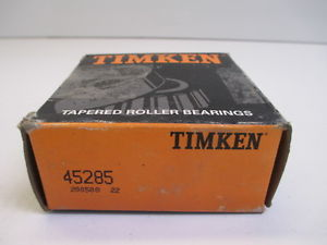 TIMKEN 45285 TAPERED ROLLER BEARING MANUFACTURING CONSTRUCTION NEW