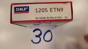 """NEW  OLD"" SKF 1205ENT9   Self Aligning  Ball Bearing   SEALED BOX"