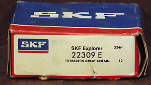 1 NEW SKF EXPLORER 22309 E SPHERICAL ROLLER BEARING NIB *MAKE OFFER*