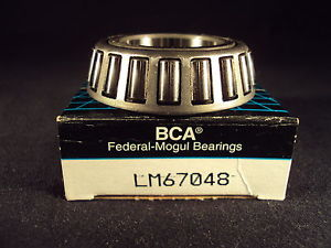 BCA LM67048 Tapered Roller Bearing Cone, (=2 Timken)