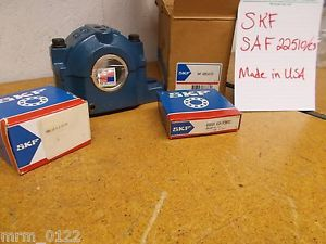 SKF SAF 22510/C3 Flange Pillow Block Bearing SNW 10X1-11/16 22210 CCK/C3W33 New