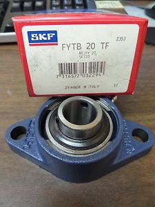 NEW SKF 2 BOLT FLANGE BEARING FYTB 20 TF FYTB20TF