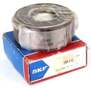 NIB SKF 5305-A-2Z DOUBLE ROW SHIELDED BALL BEARING 5305A2Z