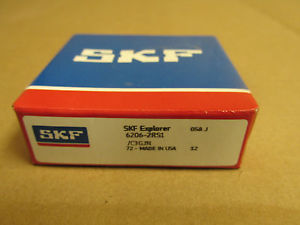 NIB SKF 6206 2RS1 BEARING RUBBER SHIELD 62062RS1C3GJN 62062RS C3 30x62x16 mm NEW