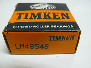 NEW TIMKEN LM48548 TAPERED ROLLER BEARING