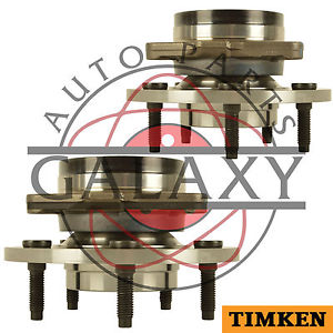 Timken Pair Front Wheel Bearing Hub Assembly Fits Ford F-150 1997-2000