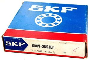 NEW 6009 2RSJEM SKF Single Row Shielded Deep Groove Radial Ball Bearing   ***