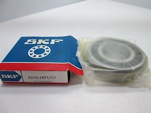 New In Box SKF 6310-2RS1/C3 Ball Bearing, 50mm Bore, 110mm OD, 27mm Width