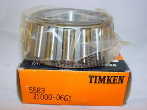 """Timken 5583 Tapered Roller Bearing Single Cone 2.3750"""" ID, 1.7230"""" Width"""