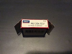 SKF,bearings#NU 204 ECP,30day warranty, free shipping lower 48!